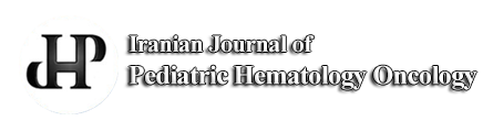 Iranian journal of Pediatric Hematology Oncology